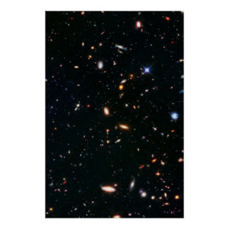 Galaxy Cluster Abel Poster