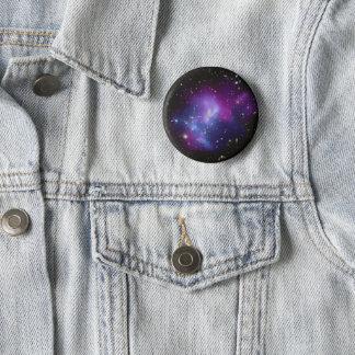 Galaxy Cluster MACS J0717 2 Inch Round Button