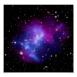Galaxy Cluster MACS J0717 (Hubble Telescope) Posters