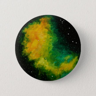 Galaxy Constellation Original Painting Badge 2 Inch Round Button