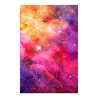 Galaxy Customized Stationery
