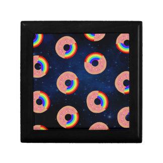 Galaxy Donut Rainbows Gift Box