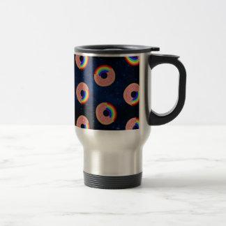 Galaxy Donut Rainbows Travel Mug