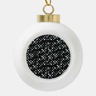 Galaxy Dots Ceramic Ball Ornament