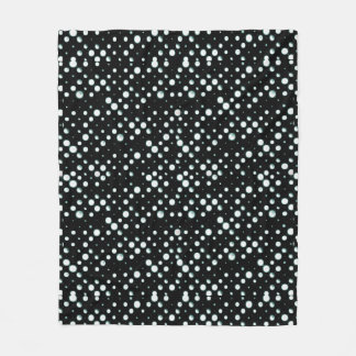 Galaxy Dots Fleece Blanket