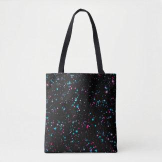 Galaxy Dots Tote Bag