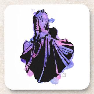 Galaxy Dress Coaster
