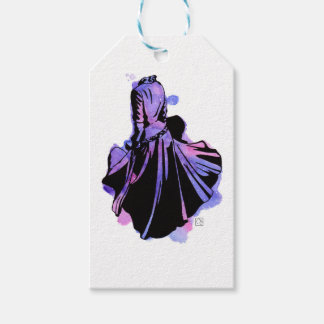 Galaxy Dress Gift Tags