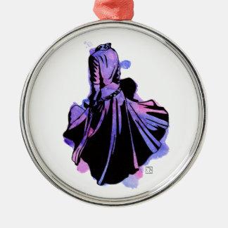 Galaxy Dress Metal Ornament
