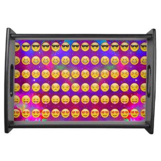 Galaxy Emojis Serving Tray