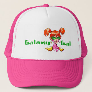 Galaxy Gal Trucker Hat
