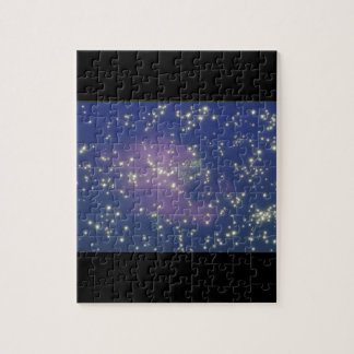 Galaxy. (galaxy;space;stars;color;_Space Scenes Jigsaw Puzzle