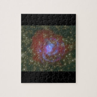 Galaxy. (galaxy;space;stars;colors;_Space Scenes Jigsaw Puzzle