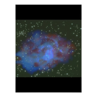 Galaxy. (galaxy;space;stars;nebula_Space Scenes Poster