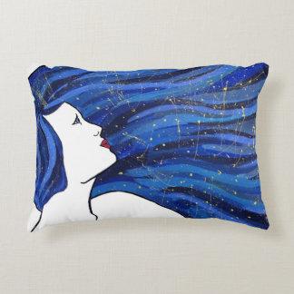 Galaxy Girl pillow