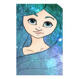 Galaxy Girl Stationery