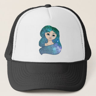 Galaxy Girl Trucker Hat