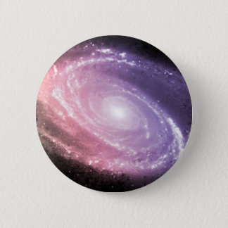 Galaxy Gradient Space Art 2 Inch Round Button