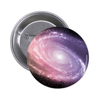 Galaxy Gradient Space Art 2 Inch Round Button