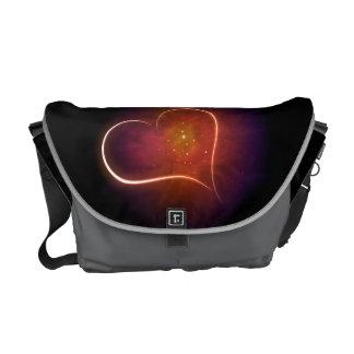 Galaxy Heart. Messenger Bag