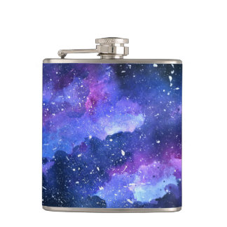 Galaxy Hip Flask