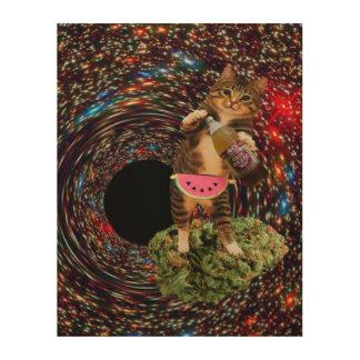 galaxy hole katz wood print