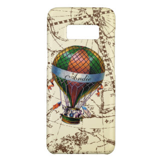 Galaxy Hot Air Balloon on Zodiac Sky Add Name Case-Mate Samsung Galaxy S8 Case