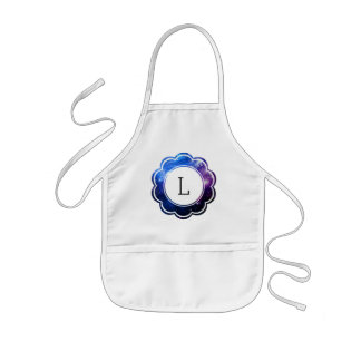 Galaxy Initial Kids Apron