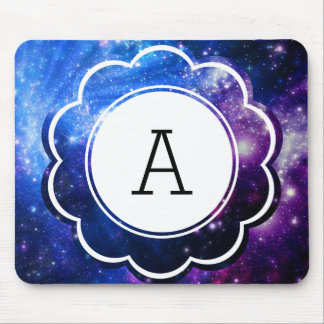 Galaxy Initial Mouse Pad