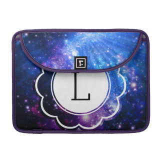 Galaxy Initial Sleeve For MacBook Pro