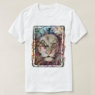 Galaxy King Lion T-Shirt