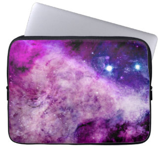 Galaxy Laptop Sleeve 13 inch Stars Nebula Purple