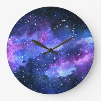 Galaxy Large Clock