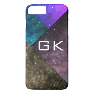 Galaxy Layers Universe Geometic iPhone 8 Plus/7 Plus Case