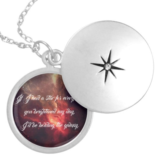 Galaxy Love Locket Necklace