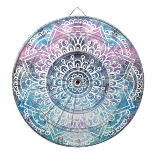 Galaxy Mandala Dartboard