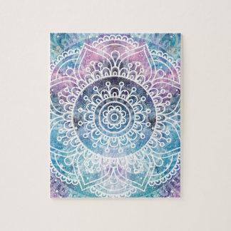 Galaxy Mandala Jigsaw Puzzle