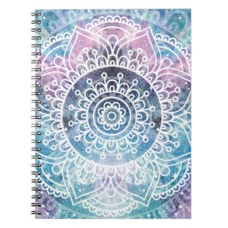 Galaxy Mandala Notebook