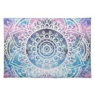 Galaxy Mandala Placemat