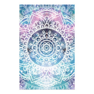 Galaxy Mandala Stationery