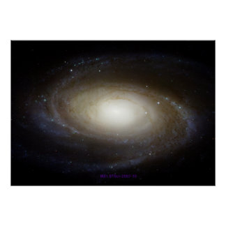 Galaxy Messier 81 - Resizable Poster