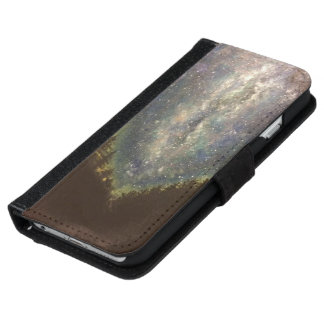 Galaxy Mountains iPhone 6 Wallet Case