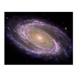 Galaxy Multiwavelength M81 Postcard