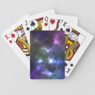 Galaxy Nebula Cat Playing Cards