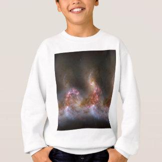 Galaxy Nebula Print Sweatshirt