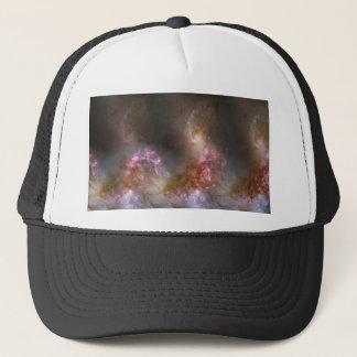 Galaxy Nebula Print Trucker Hat
