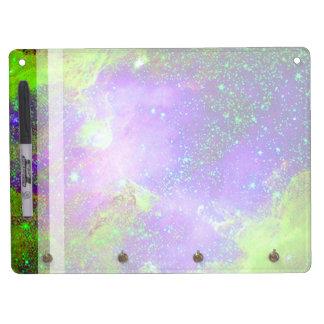 Galaxy Nebula space image. Dry-Erase Board