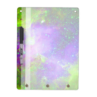 Galaxy Nebula space image. Dry Erase Board