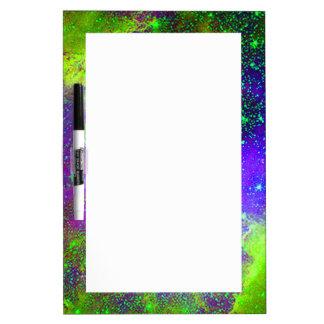 Galaxy Nebula space image. Dry Erase White Board