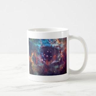 Galaxy Nebula space image. Mugs